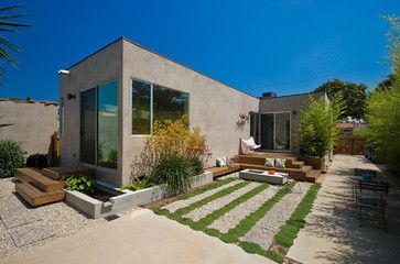 Back Yard - modern - Exterior - Los Angeles - risa boyer architecture