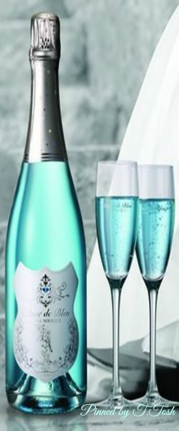 A little Blue Bubbly. Good vibes only.Beautiful photo.