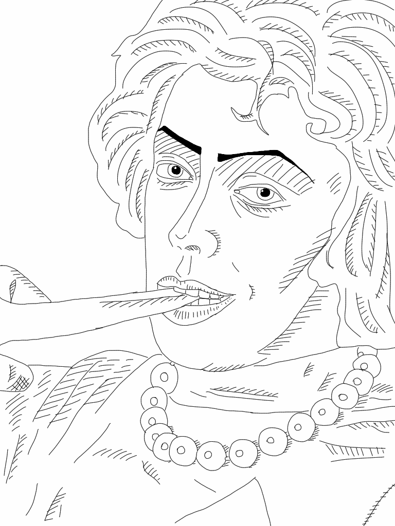 rocky horror line art v 2 by xabibrolonso on deviantart