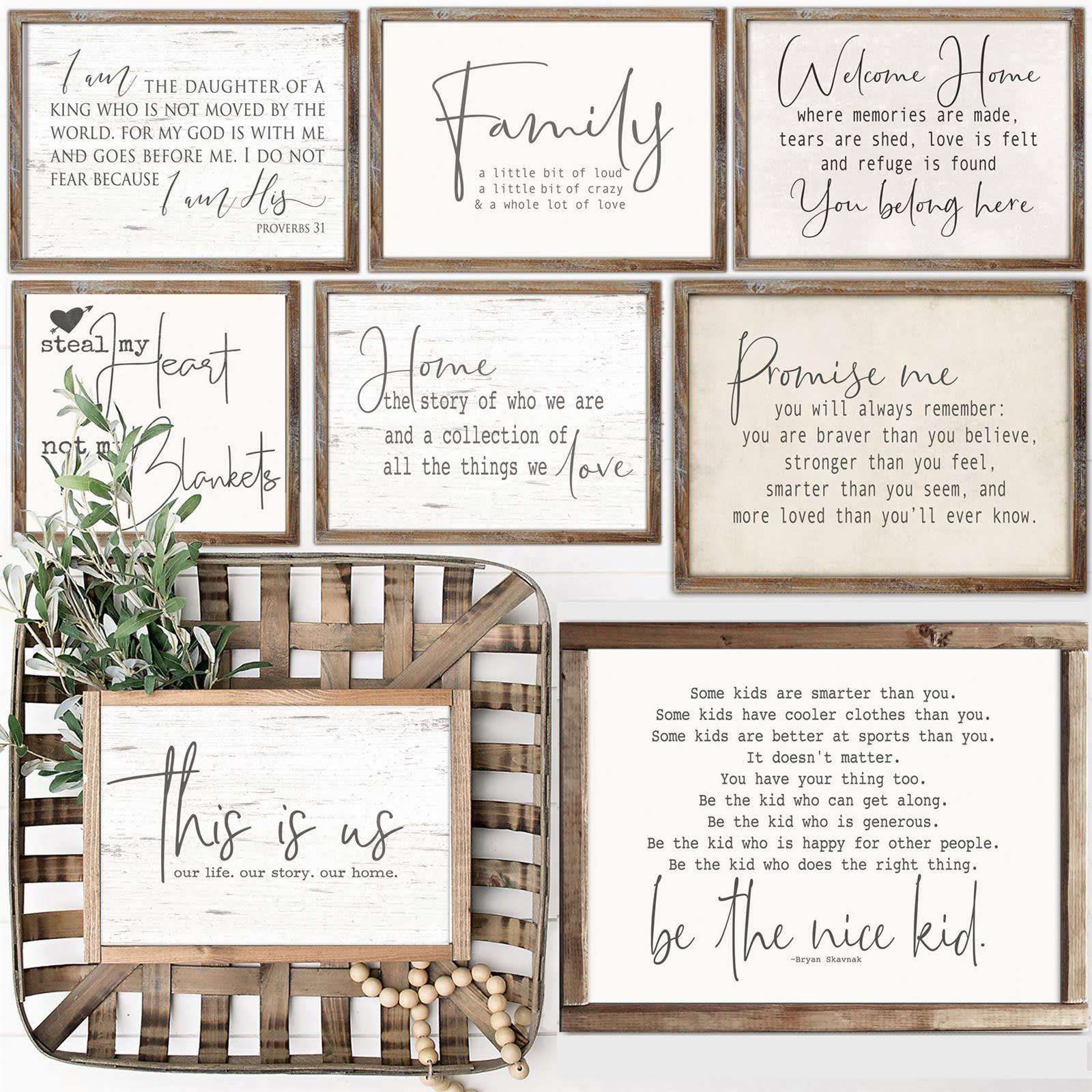 Rustic Chic Farmhouse Prints L 3 Sizes Chic Home Decor Shabby Chic Homes Shabby Chic Decor