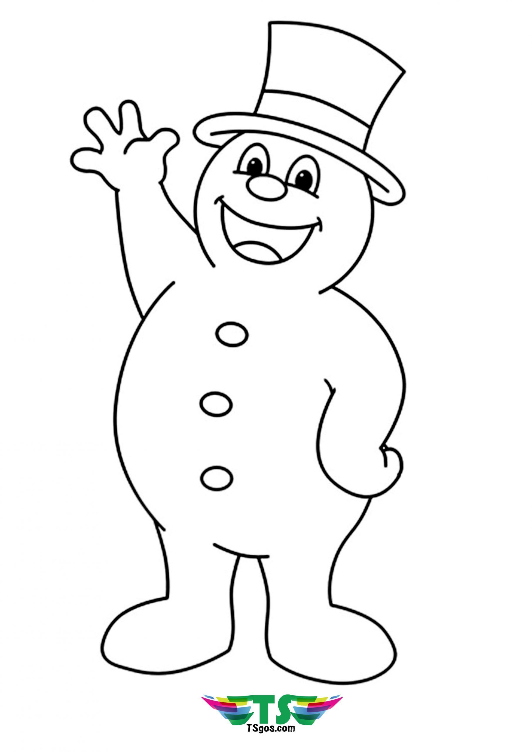Frosty The Snowman Coloring Page Elsa coloring pages