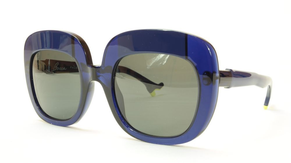 e89c10993b Face A Face Sunglasses Frame BOCCA Lova 1 008 Acetate Navy Blue Italy Hand  Made  FaceAFace  Round