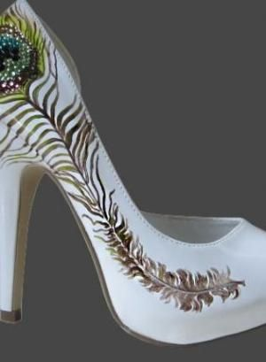 peacock heels!