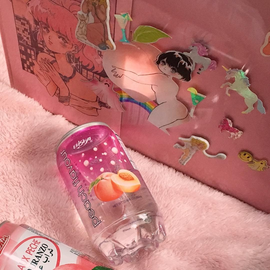Iiiiffff Aesthetic Images Japanese Snacks Pink