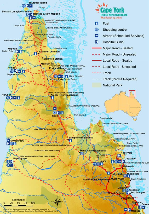 Where Is The Outback In Australia On A Map.About Cape York Tours North West Outback Safaris Australia