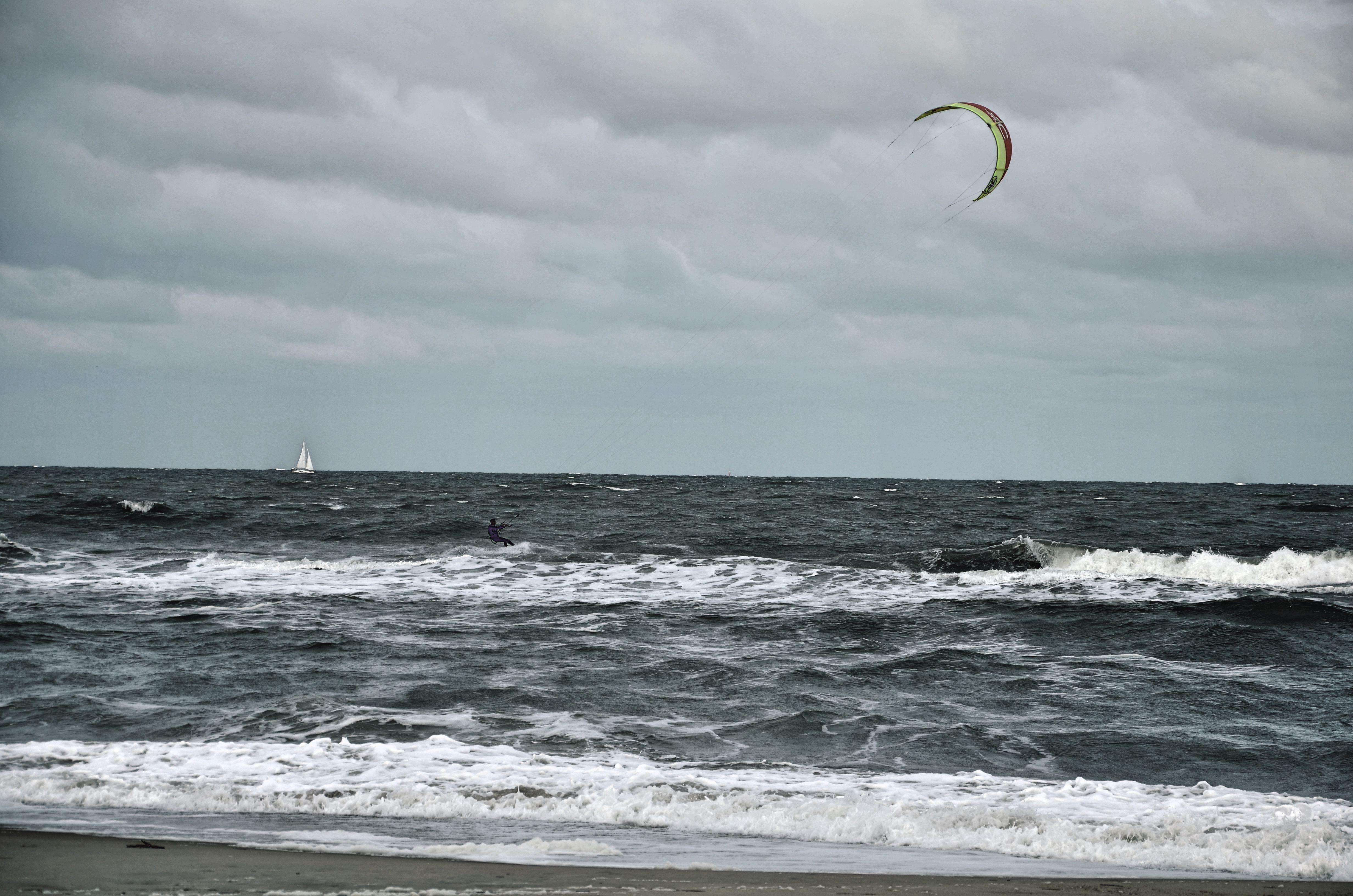 Kite Surfer in Virginia Beach, VA