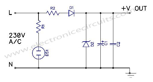 Transformerless Power Supply Circuit Stuff To Buy Circuit Power