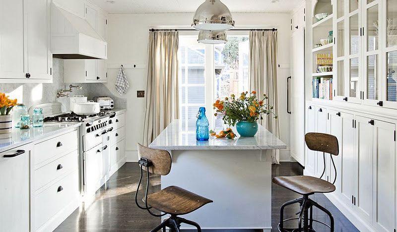 jessica helgerson white kitchen wall of glass