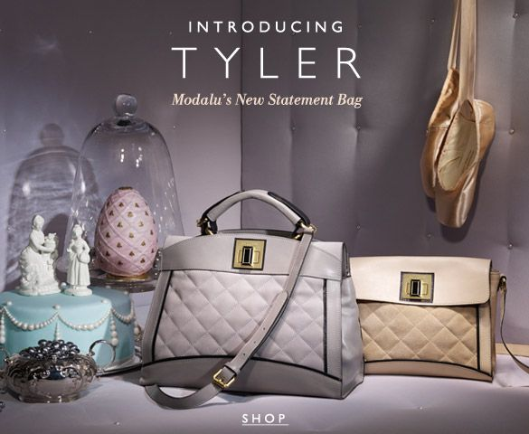 With its fine frame panelling and quilted suede finish, the Tyler grab bag oozes unparalleled style and sophistication. Its statement gem shaped twist lock adds an element of vintage glamour, inspired by the British heroine, Elizabeth Taylor.