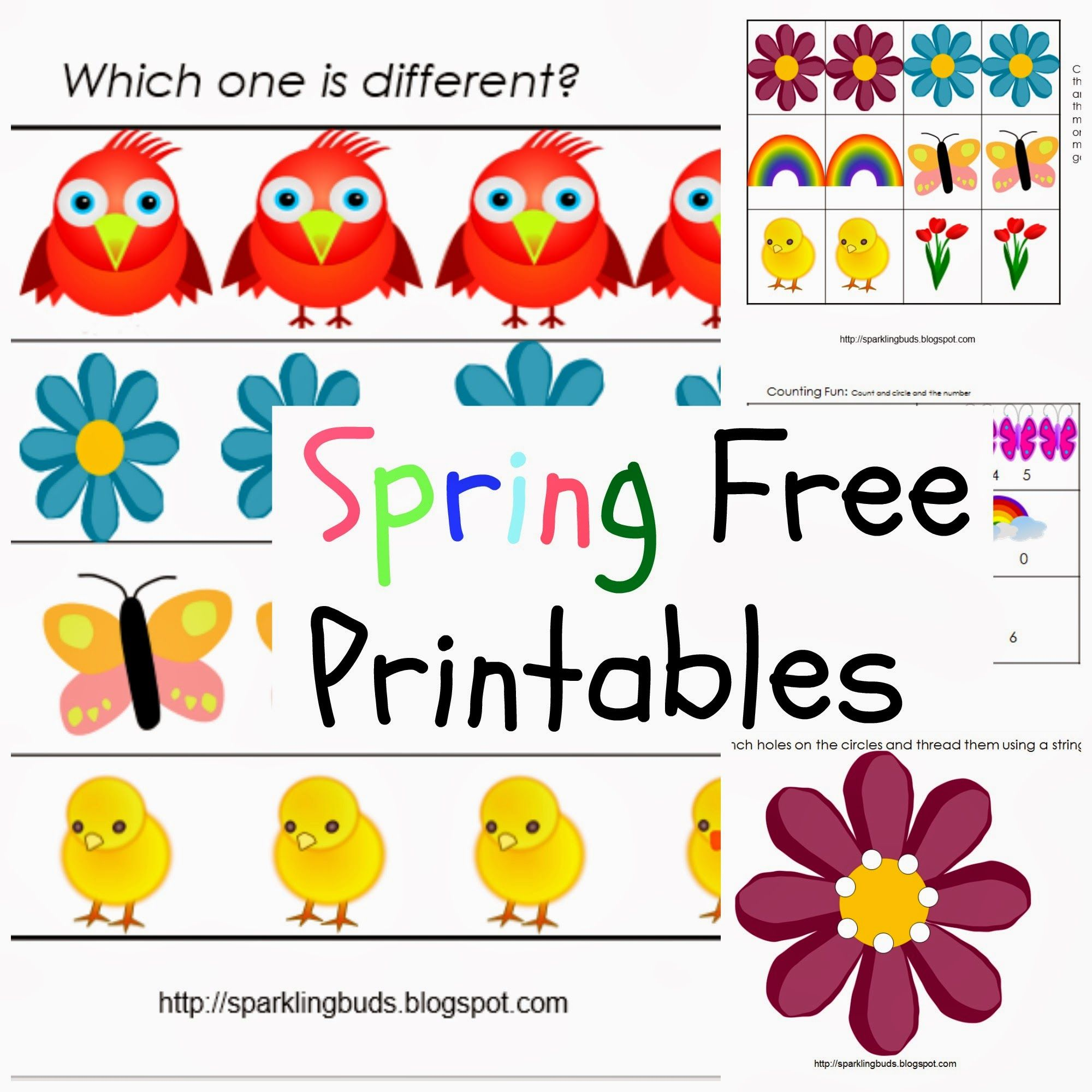 Free Spring Printables With Images