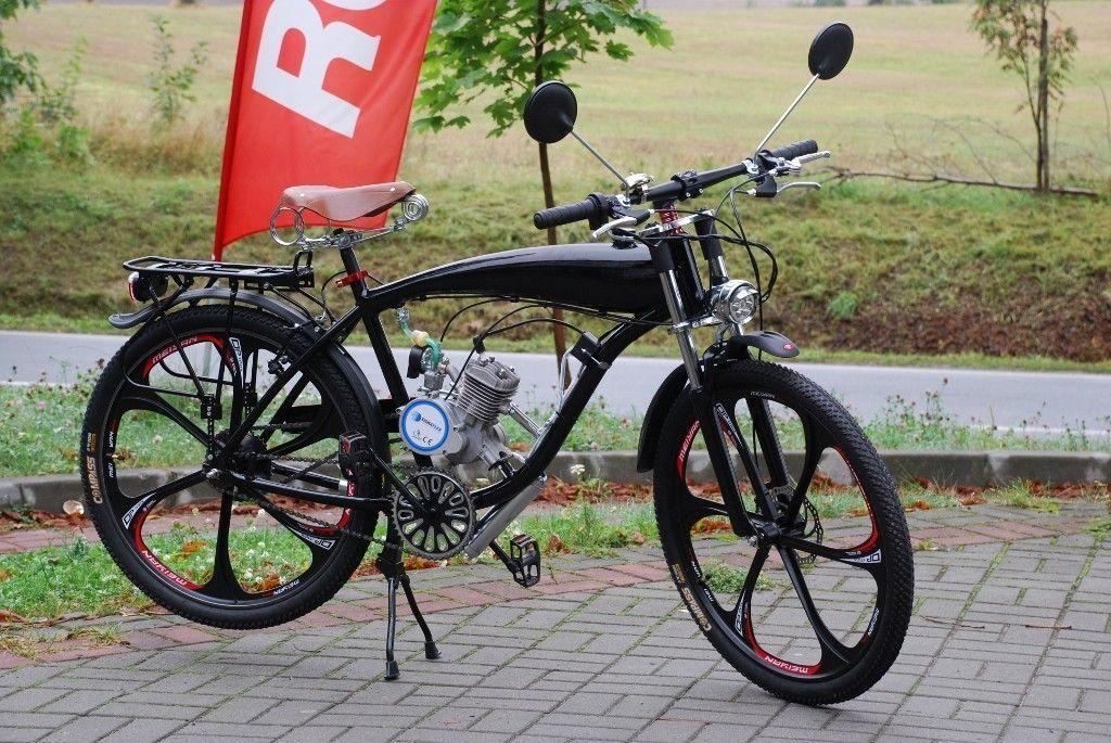 Rower Moto Rower Z Silnikiem Spalinowym Moto Moped Motorcycle