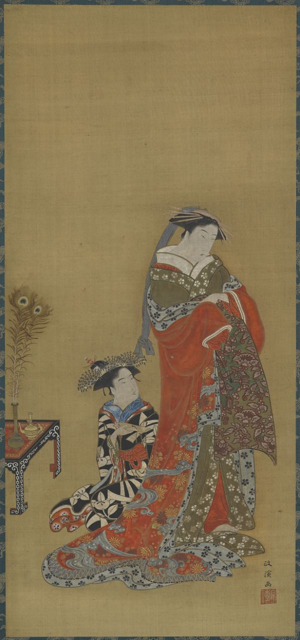 Object | Online | Collections | Freer and Sackler Galleries Artist: Kitao Masanobu 北尾政演 (1761 - 1816)