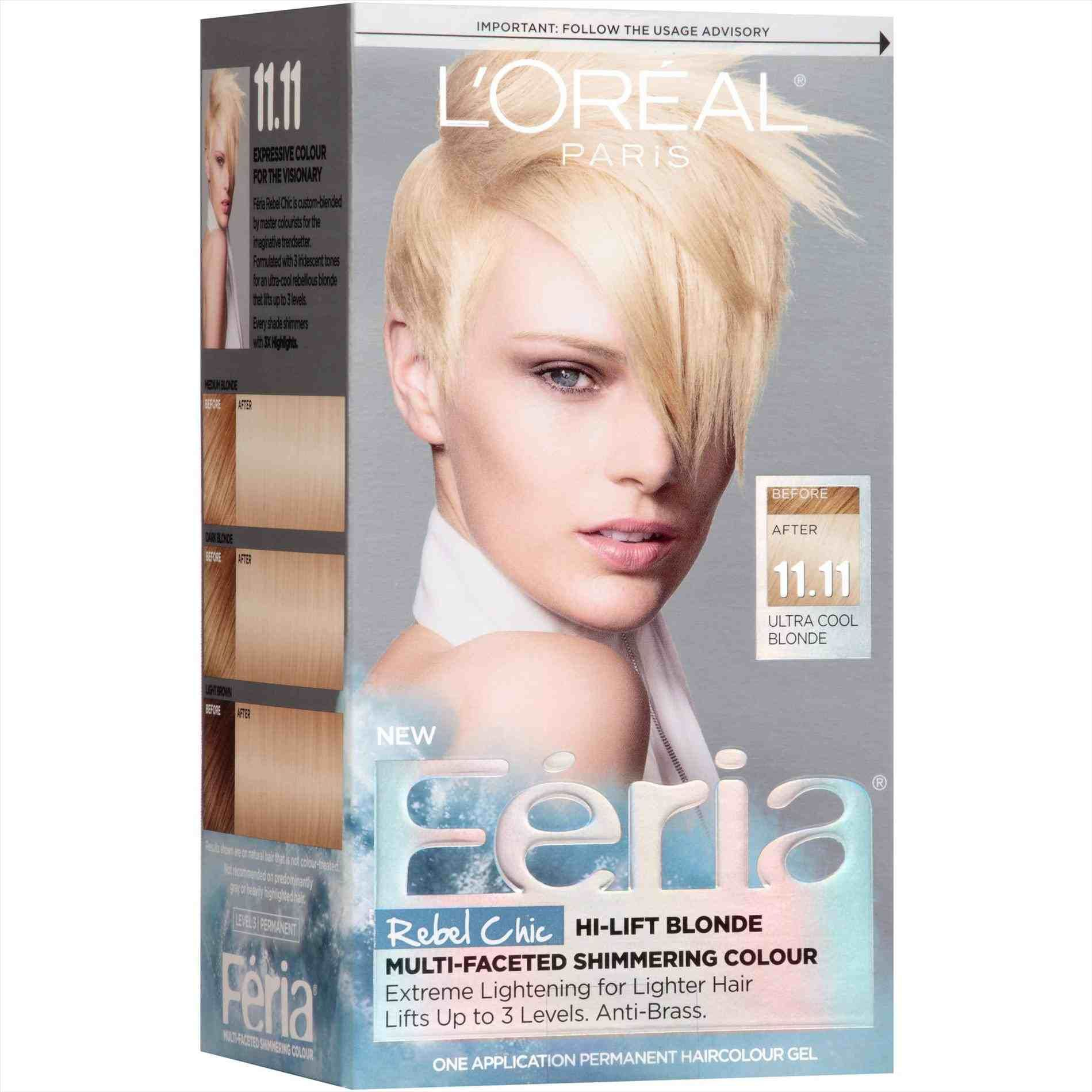 Loreal Ash Blonde Hair Color Chart Feria Hair Color Cool Blonde