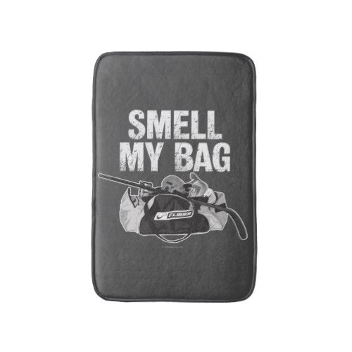 Smell My Bag Hockey Stench Bath Mat Zazzle Com With Images My Bags Bags Hockey Inspiration