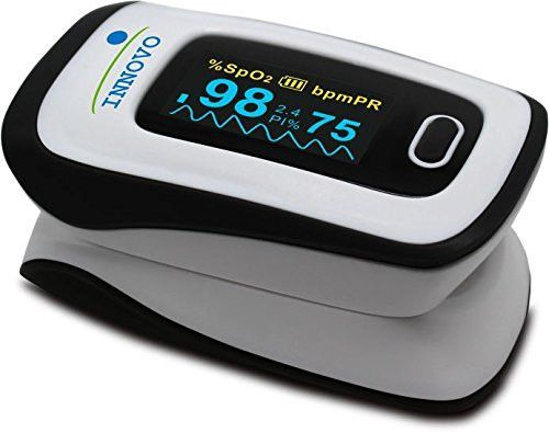 Innovo Deluxe Fingertip Pulse Oximeter Newly Released July 2015 Pulse Oximeter Medical Supplies Pulse Oximeters