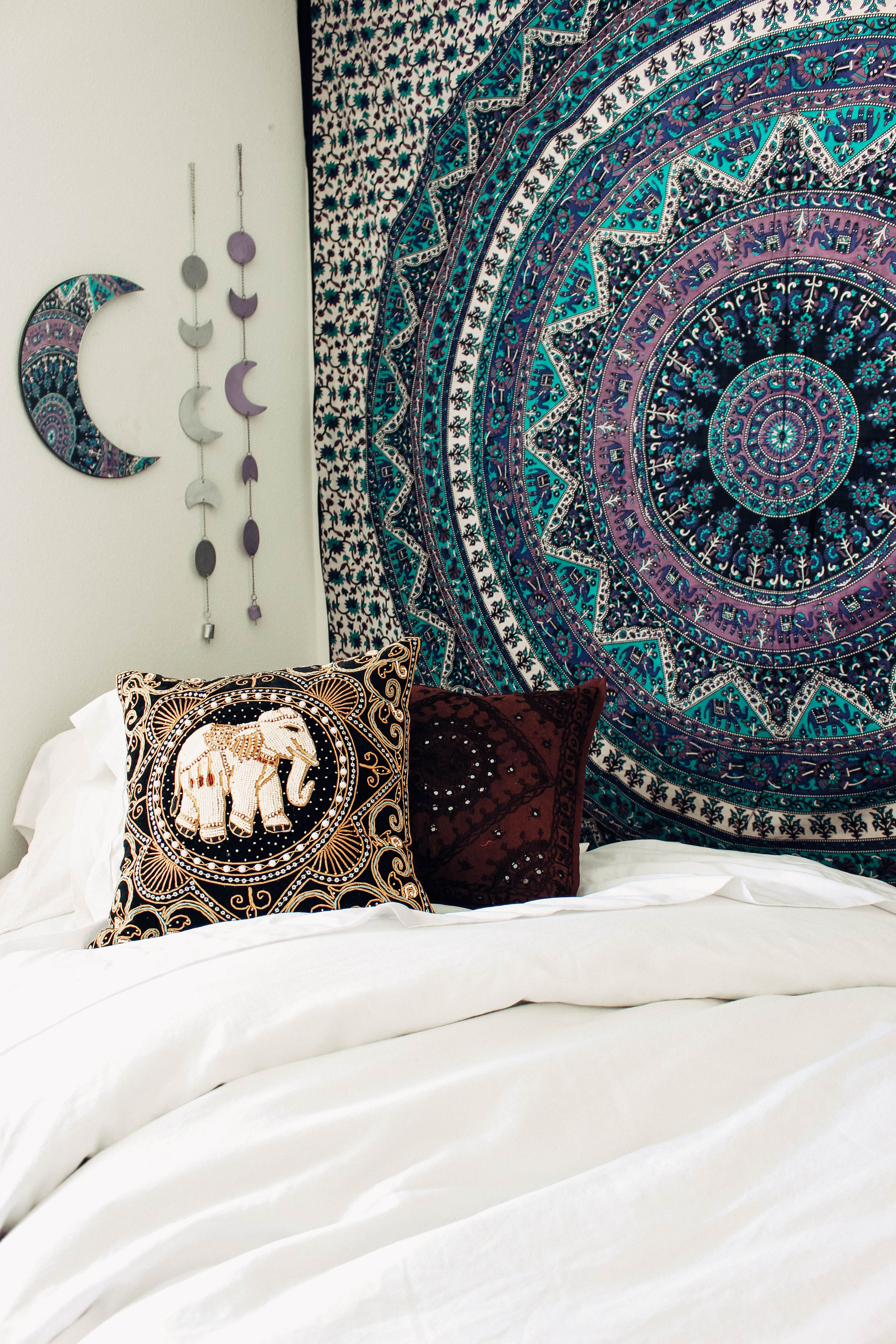 Voodoo Dreams Tapestry✨ Design by @kaitlynjohnsondesign ☽ ✩ Product by Lady Scorpio | Bohemian Boho Bungalow Bedroom || Save 25% off all orders with code PINTERESTXO at checkout | Shop Now LadyScorpio101.com