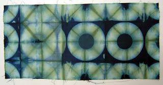 ...And Then We Set It On Fire: Shibori Folding - no 20