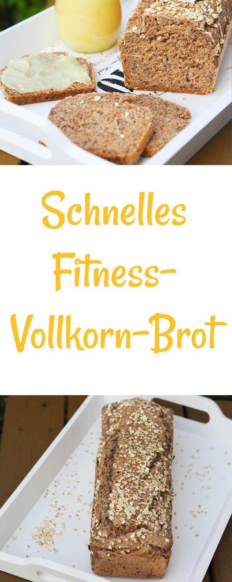 Photo of Schnelles Fitness-Vollkorn-Joghurt Brot – wiewowasistgut.com
