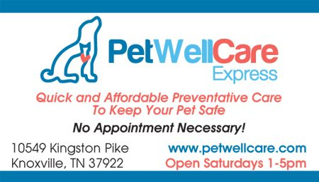 Pet well care business card petwellcare knoxville parties pet well care business card petwellcare reheart Images