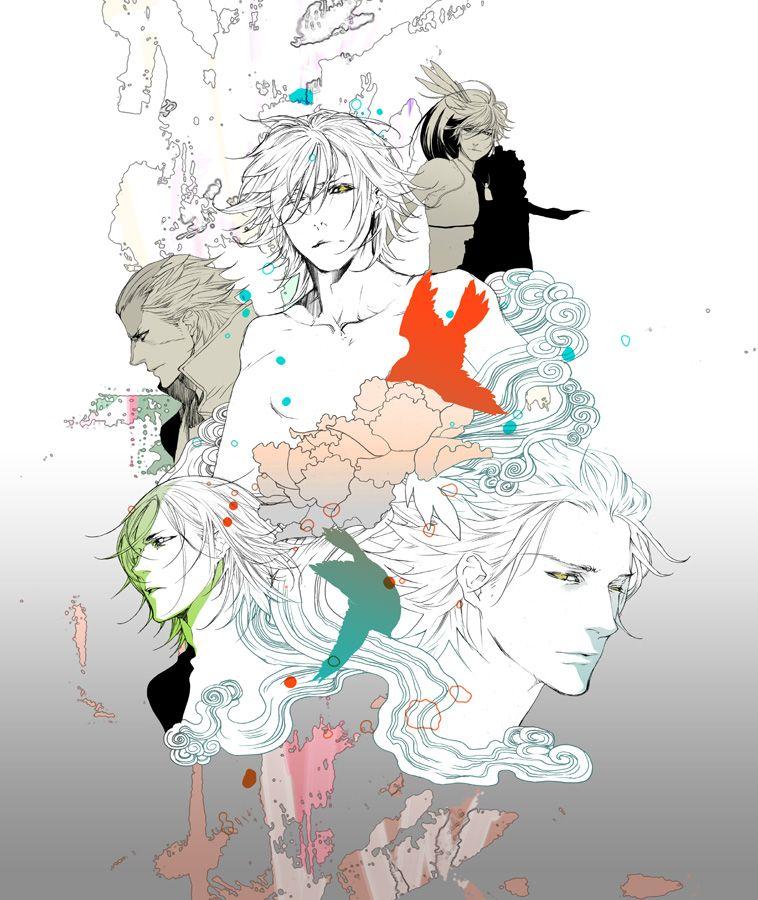 Date, Katakura, Maeda, Motochika and Saika, Sengoku Basara