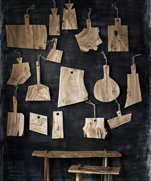 Tablas de corte de madera de olivo, talladas a mano, de Andrea Brugi                                                                                                                                                                                 Más