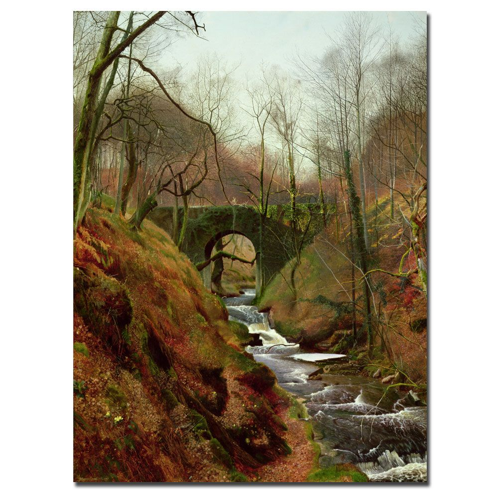 John Grimshaw 'March Morning' Medium Canvas Art