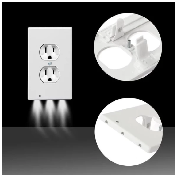 Outlet Plate With Led Night Lights Magicbaby Shop Plates On Wall Led Night Light Night Light