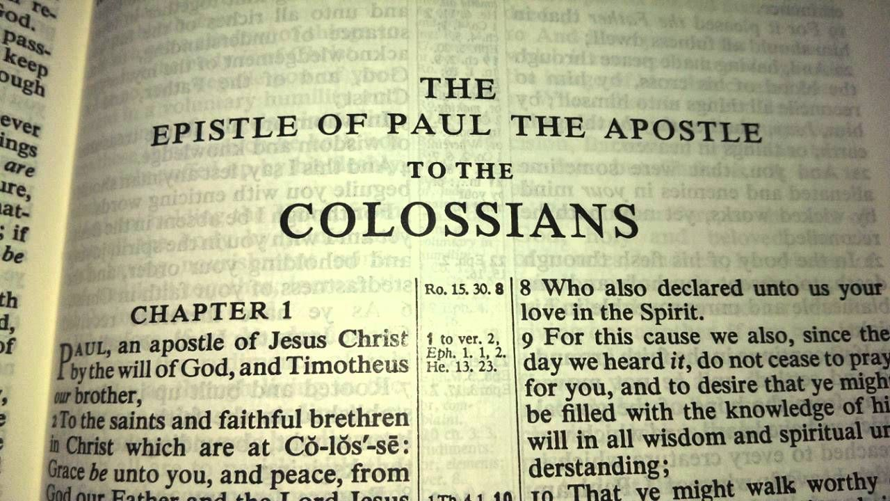 Image result for image of the epistle to the colossians