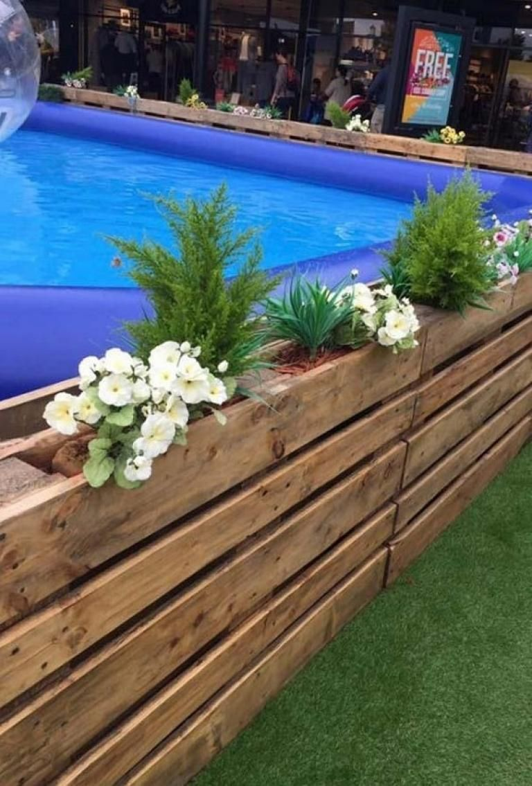 Cool DIY Pallet Swimming Pool Ideas swimmingpools