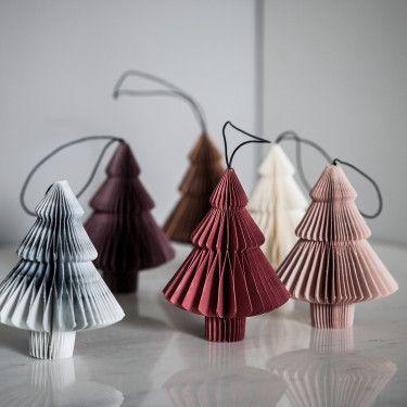 2017 Season - NORDSTJERNE Assorted Christmas Tree Decorations - 6