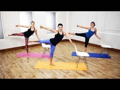 Cardio Barre Workout For the Best Full-Body Burn Ever | Class FitSugar - YouTube #cardiopilates