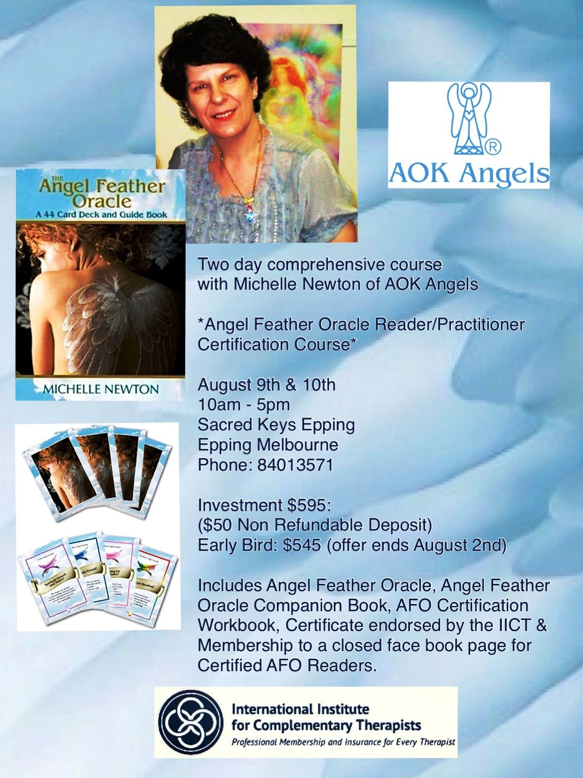 Become One Of The First Certified Angel Feather Oracle Card Readers
