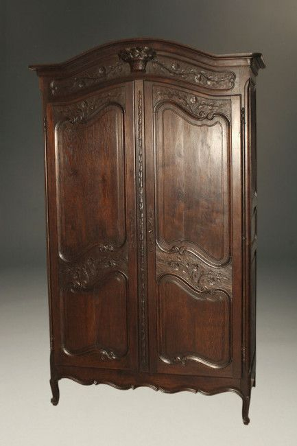 Early 20th Century Antique Marriage Armoire Antique Wardrobe Armoire Antiques
