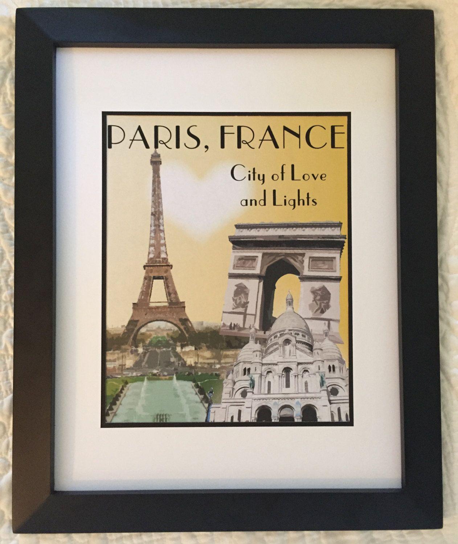 Paris Print by NightBirdsDesign on Etsy
