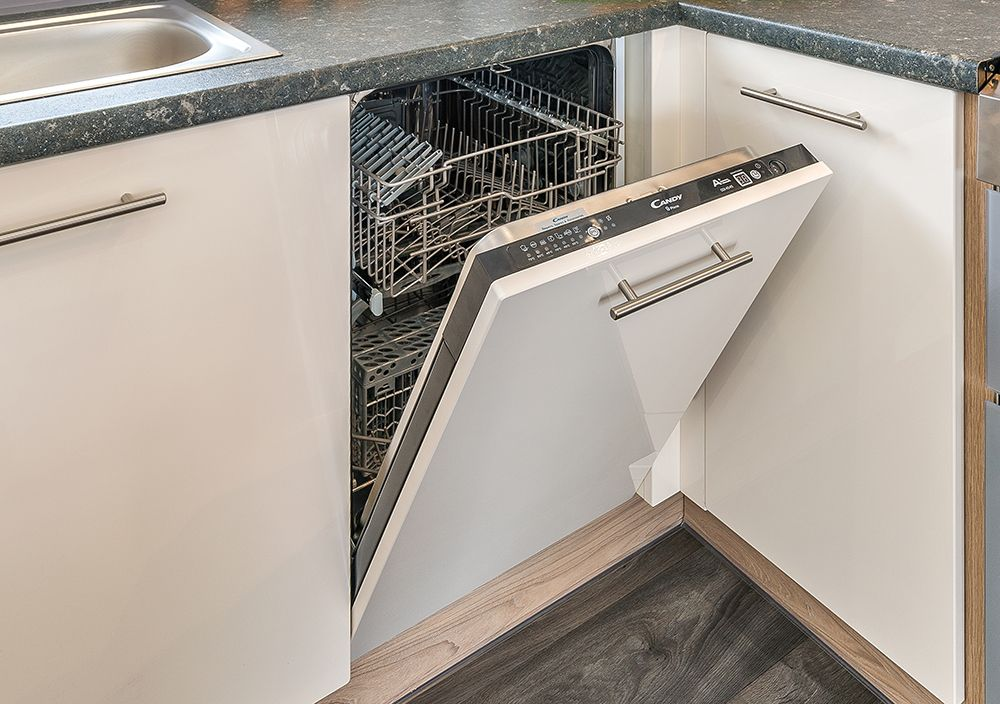 Integrated Slimline Dishwasher Part Of The Optional Deluxe Pack