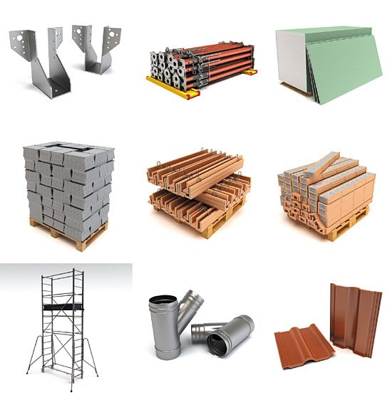 Learn about the different types of buildingmaterials and for Materials needed to build a house