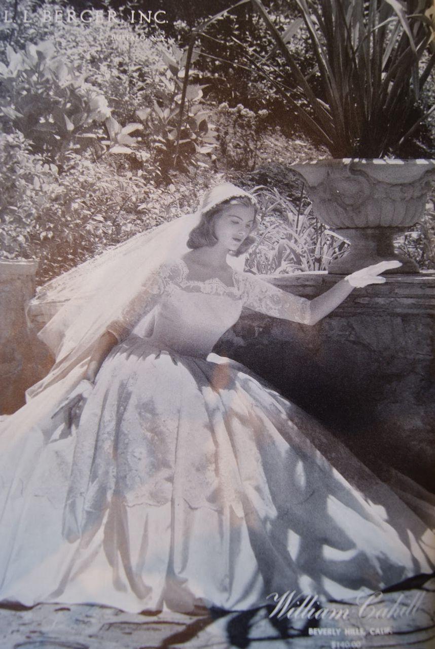 WILLIAM CAHILL of Beverly Hills Vintage Wedding Gown | Pinterest ...