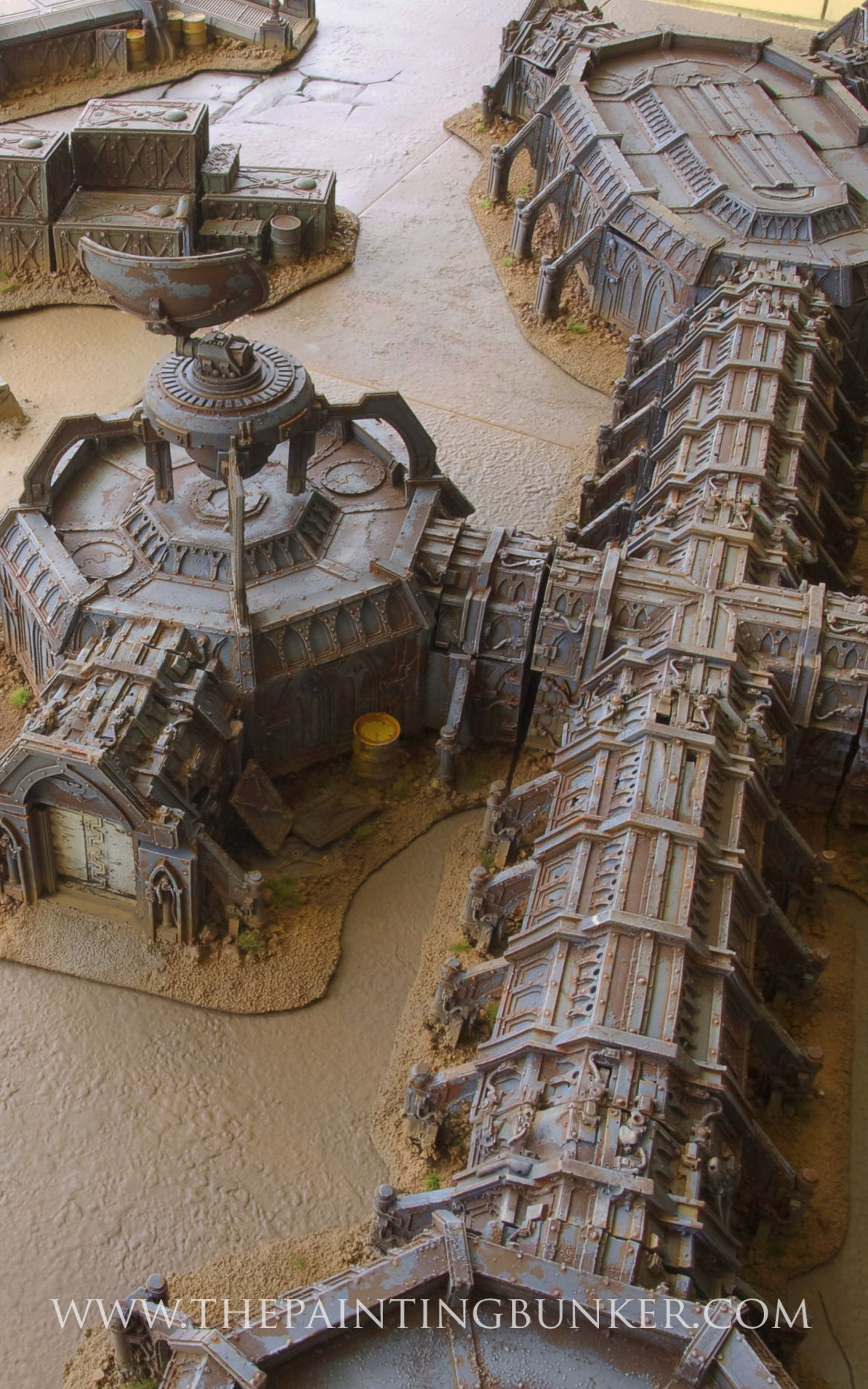Forge World Anphelion Base 5, sci-fi based tabletop game terrain