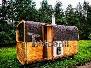 Charming Gardens · Rectangular Outdoor Garden Wooden Sauna ...