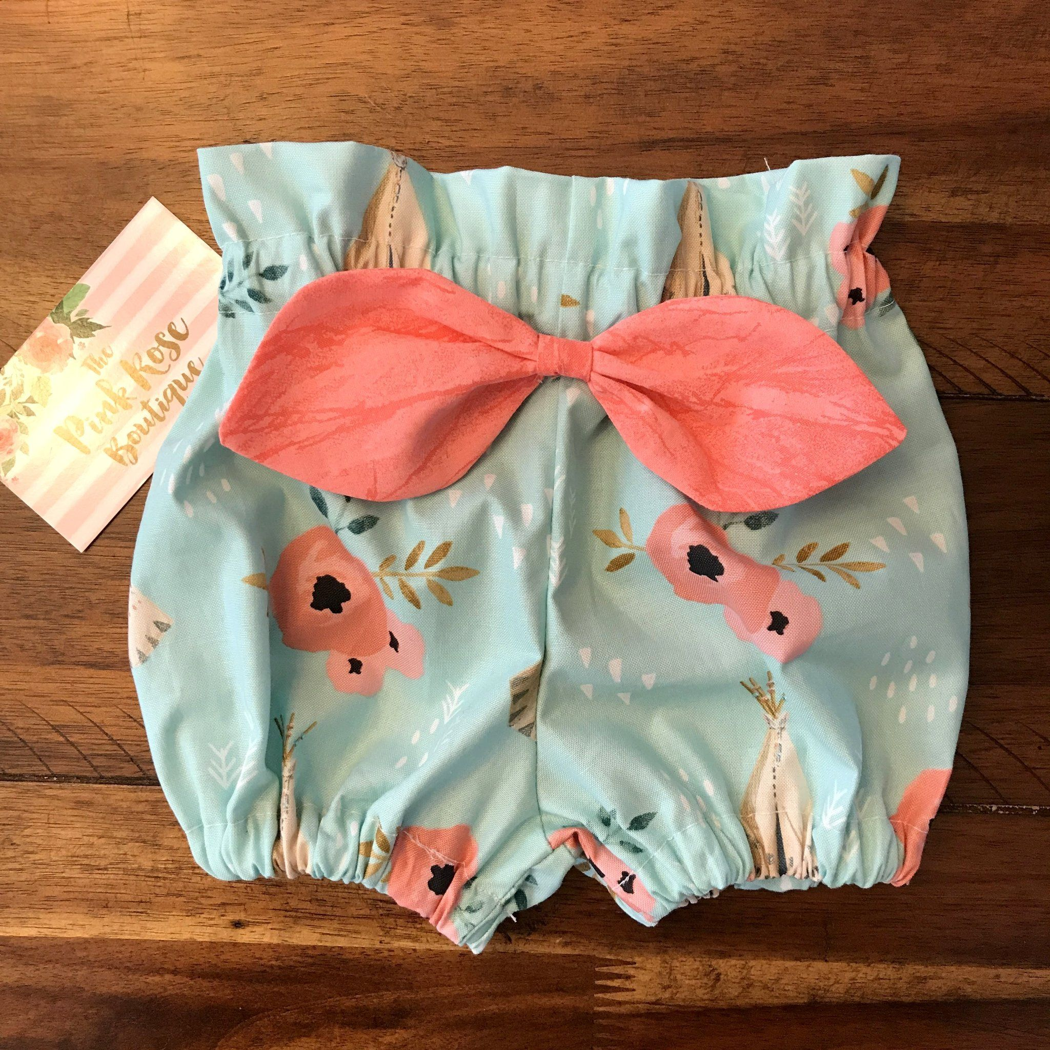Baby bloomer floral ready to ship