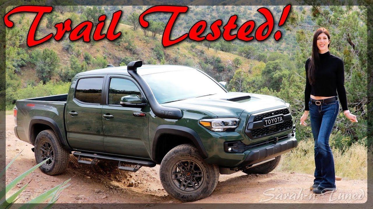 Terrifyingly Capable Truck 2020 Trd Pro Tacoma Review Trd Pro Tacoma Trd Toyota Tacoma Trd Pro