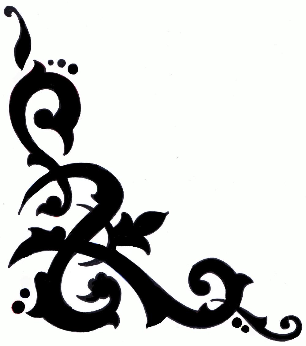 sketsa hiasan pinggir kaligrafi bunga wallpaper hd 2019 gambar hiasan hiasan ornamen sketsa hiasan pinggir kaligrafi bunga