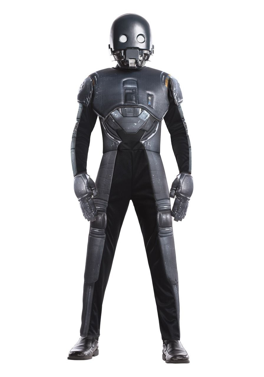 Mens Deluxe Death Trooper Costume Star Wars Adult Rogue One Fancy Dress Outfit
