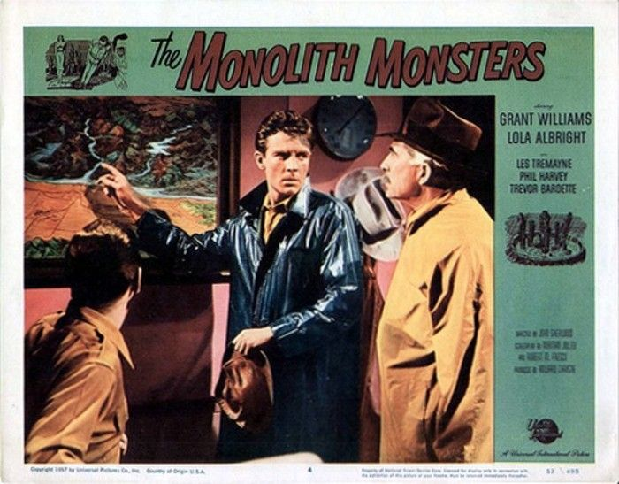 The Monolith Monsters (1957) in 2020 | Lobby cards ...
