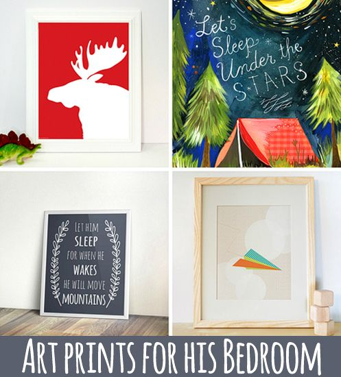 Hitting The Wall On Decorating Your Boyu0027s Room? These Art Prints Are Sure  To Help