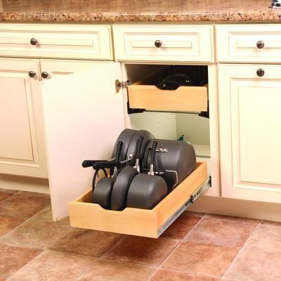 Pull Out Drawer Hardware Kits Real Solutions Pot Amp Pan