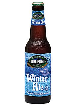 Blue Point Winter AleNew York- American Amber / Red Ale- 7% ABV. A hearty and robust amber colored ale, brewed to chase away the chill of a cold winter night. Made with Pale, Vienna, crystal, and chocolate malt, this is an uncommon amber with a tasty balance of malt and hops.