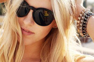 Sunglass sun girl