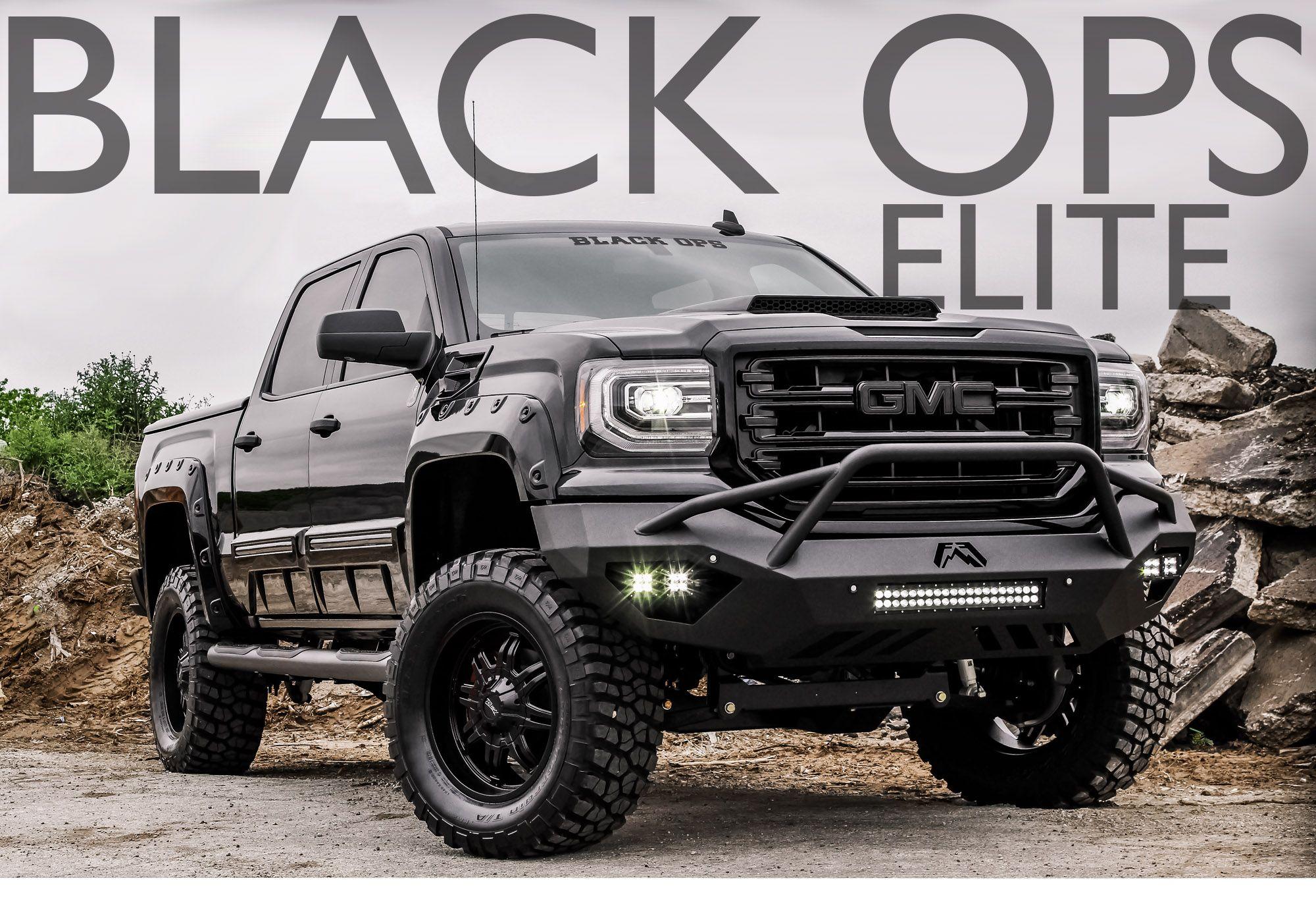 Black Ops Elite Tuscany Automotive Black Ops Cool Trucks New