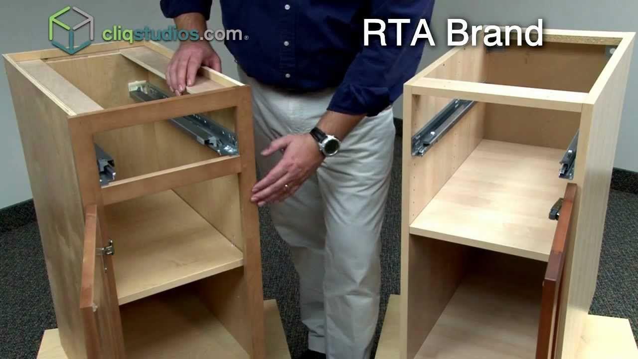 CliqStudios vs. Ready to Assemble Cabinets, RTA Cabinets ...